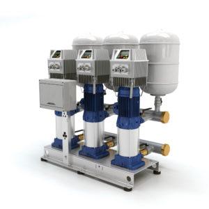 Насосні установки водопостачання