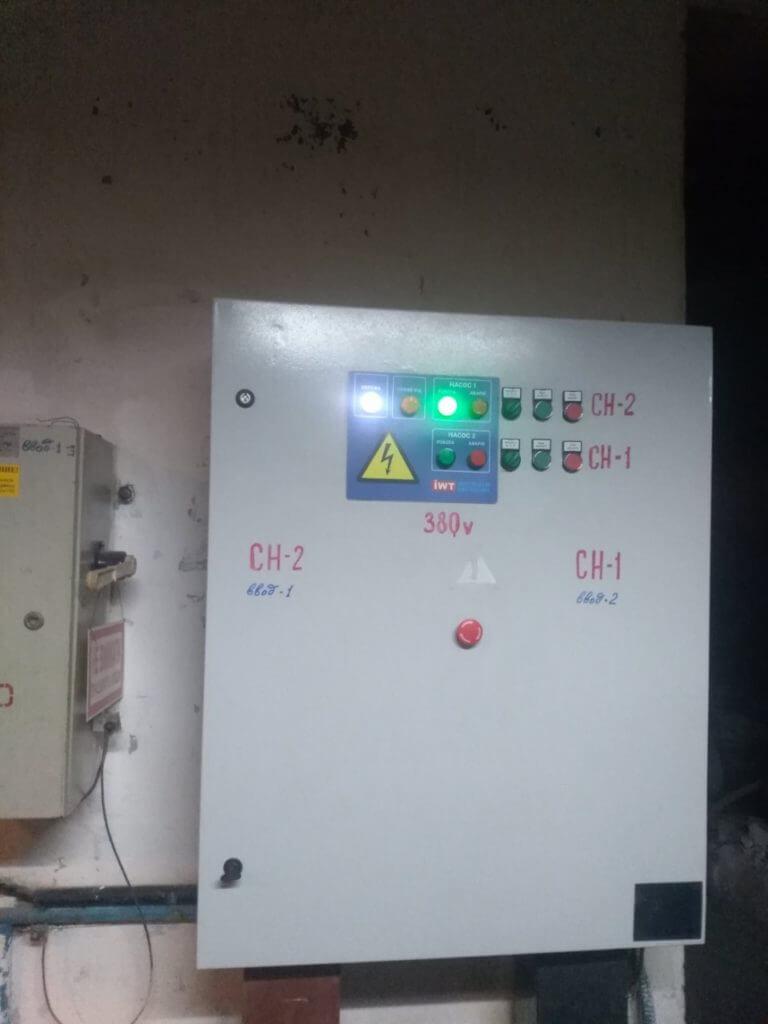Шафа керування для насосів консольного типу (ТЕЦ)
