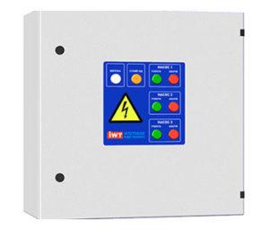 ШУ с преобразователем частоты для каждого двигателя (EBARA)