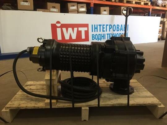 Занурювальний каналізаційний насос Ebara DRS потужністю 17 кВт