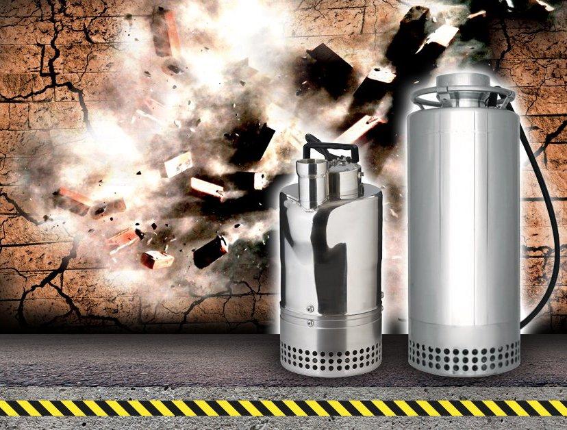 запуск производства новых моделей промышленных дренажных насосов