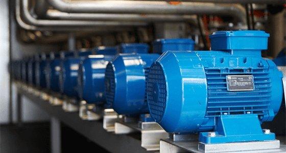 Двигуни насосів Ebara з класом енергоефективності IE3